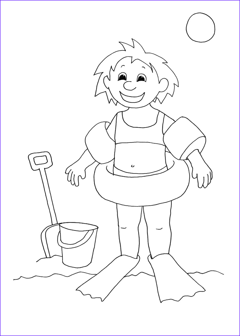 Swim Coloring Pages New Gallery Summer Coloring Pages for Kids Print them All for Free