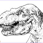 T Rex Coloring Pages Awesome Image T Rex Coloring Pages Free Printable For Coloring