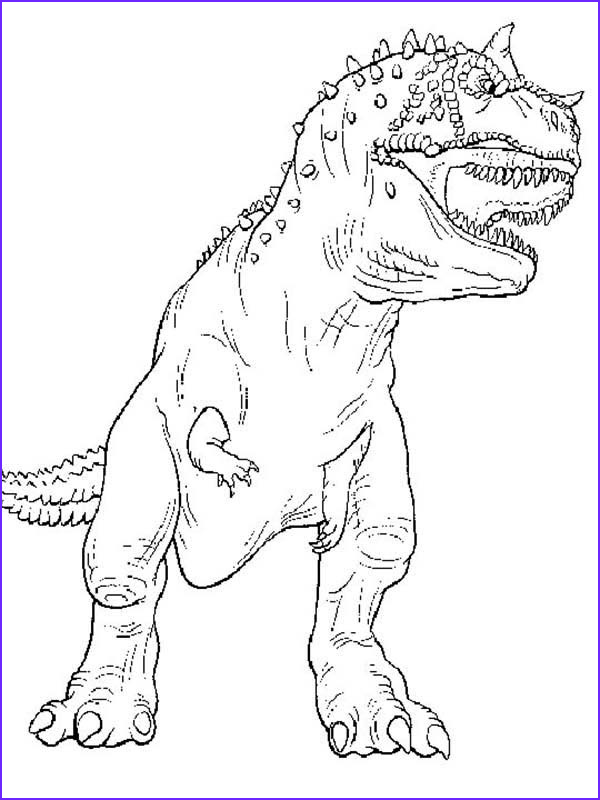 the legendary t rex coloring page
