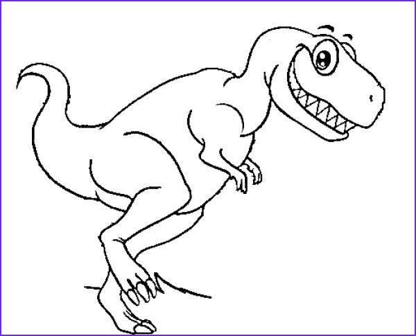 T Rex Coloring Pages Cool Photos Funny T Rex Dinosaur Coloring Pages Dinosaur Cartoon