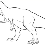 T Rex Coloring Pages Luxury Collection Printable Trex Coloring Page Coloringpagebook