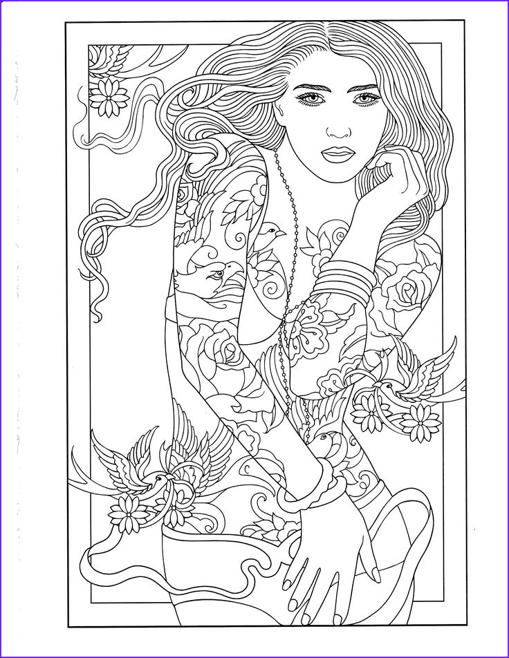 Tattoo Coloring Pages Best Of Photos Printable Coloring Page