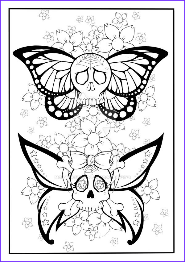 Tattoo Coloring Pages New Images 317 Best Skull Day Of the Dead Coloring Images On