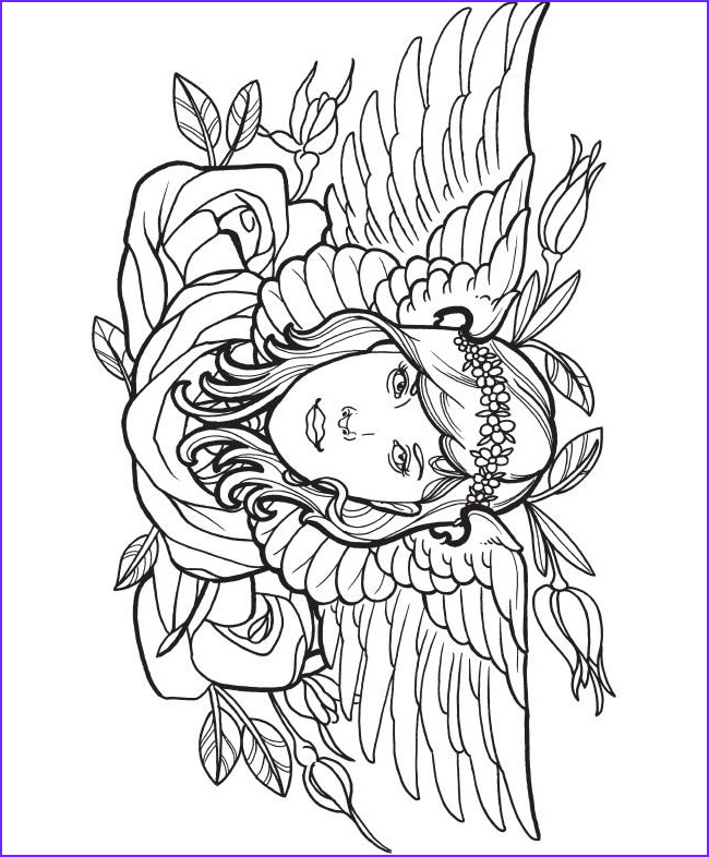 Tattoo Coloring Pages New Photos Creative Haven Modern Tattoo Designs Coloring Book Dover