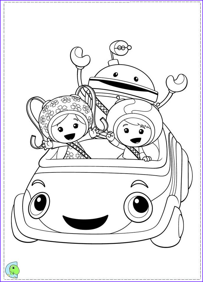 Team Umizoomi Coloring Pages Elegant Collection Team Umizoomi Colouring Pages Page 2
