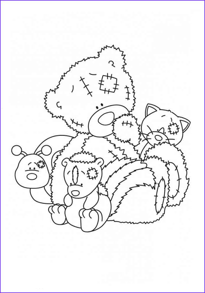 Teddy Bear Coloring Pages Awesome Gallery Teddy Bear Coloring Pages for Girls to Print for Free