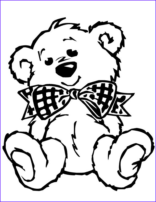 Teddy Bear Coloring Pages Cool Images Cute Baby Bear Coloring Pages Coloring Kids – Free