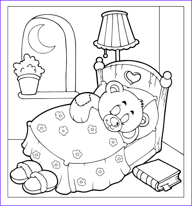Teddy Bear Coloring Pages Inspirational Collection Teddy Bear Doll Coloring Pages for Kids Coloring Pages