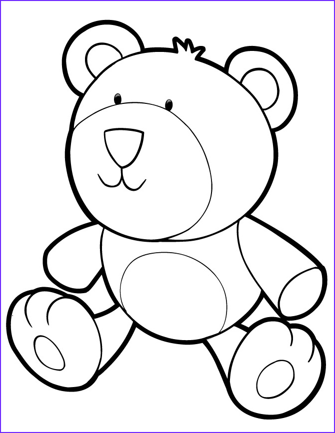 Teddy Bear Coloring Pages Inspirational Photography Teddy Bear Coloring Pages for Kids