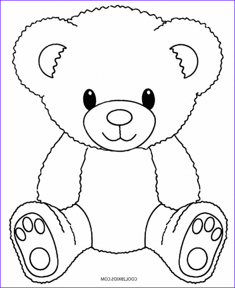 Teddy Bear Coloring Pages Luxury Images Get This Teddy Bear Coloring Pages Free 716bd