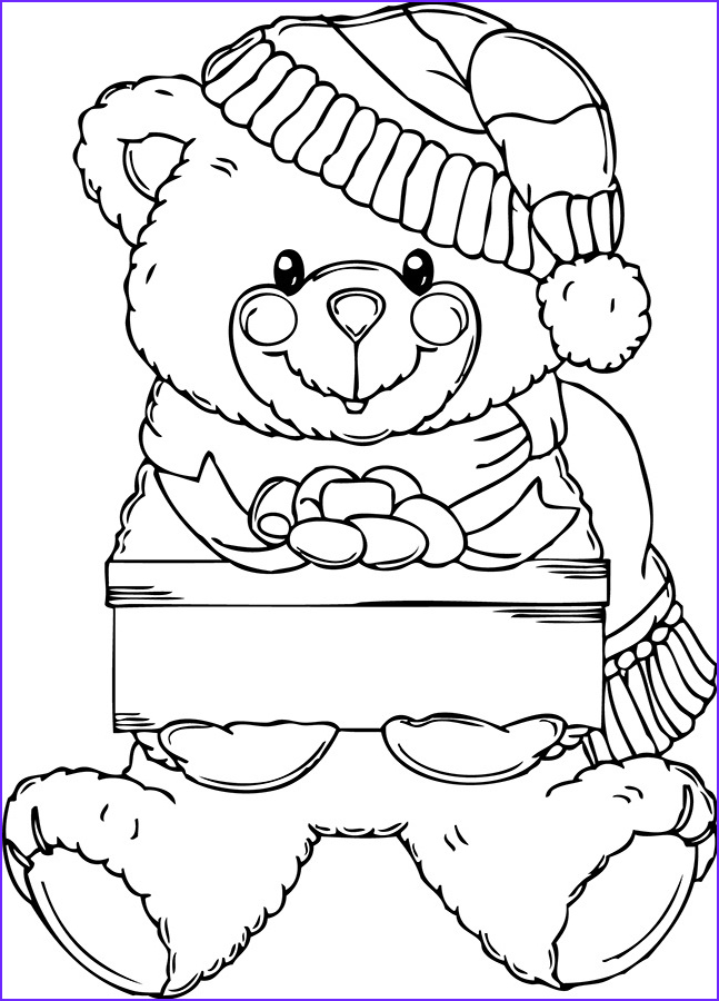 Teddy Bear Coloring Pages Unique Image Free Printable Teddy Bear Coloring Pages – Technosamrat