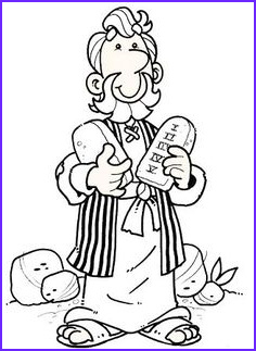 Ten Commandments Coloring Pages for Preschoolers Awesome Photos 48 Moses and the 10 Mandments