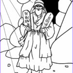 Ten Commandments Coloring Pages For Preschoolers Beautiful Gallery Printable Moses Coloring Pages For Kids