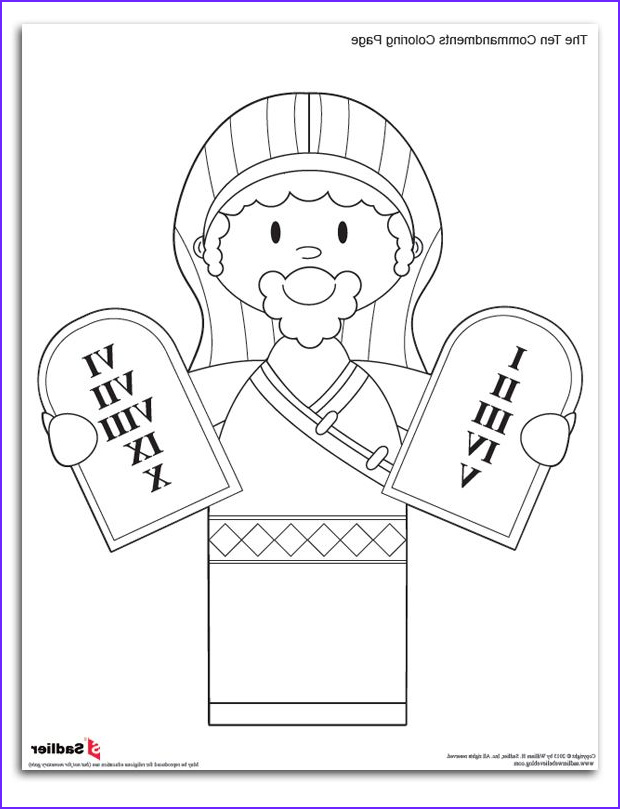 Ten Commandments Coloring Pages for Preschoolers Cool Photos Ten Mandments Colouring Pages Page 2