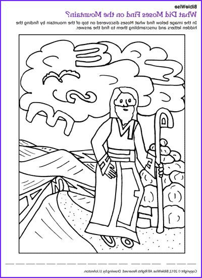 Ten Commandments Coloring Pages for Preschoolers New Photography Moses Puzzle Ten Mandments Kids Korner Biblewise