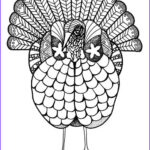 Thanksgiving Coloring Pages For Adults Beautiful Images Colorful Turkey Adult Coloring Page