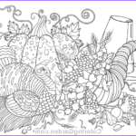 Thanksgiving Coloring Pages For Adults Best Of Photos Thanksgiving Adult Coloring Page