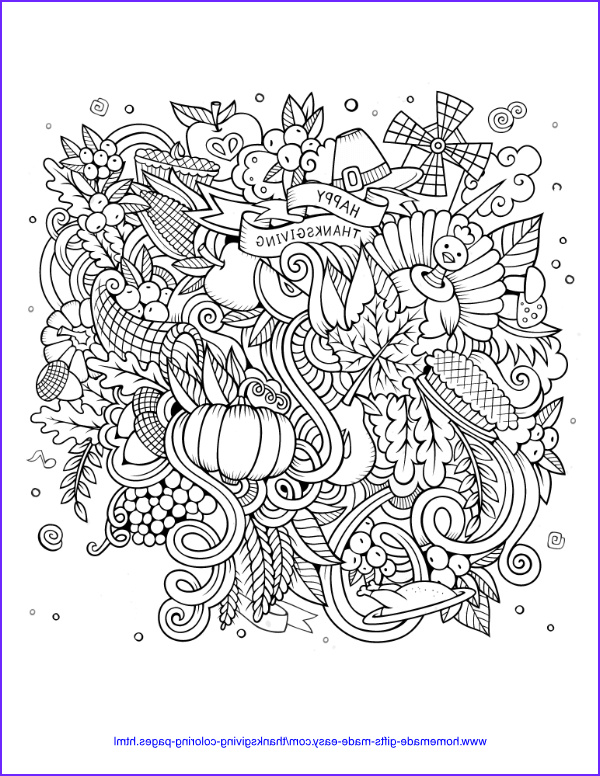 Thanksgiving Coloring Pages for Adults Inspirational Image 30 Thanksgiving Coloring Pages Free Printables