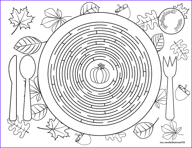 Thanksgiving Coloring Placemats Awesome Photos Printable Thanksgiving Placemats for Kids to solve and Color