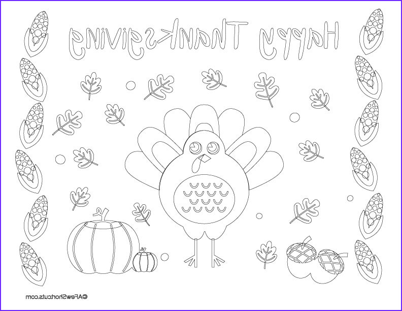 Thanksgiving Coloring Placemats Beautiful Photos Printable Thanksgiving Coloring Page Placemat for Kids A