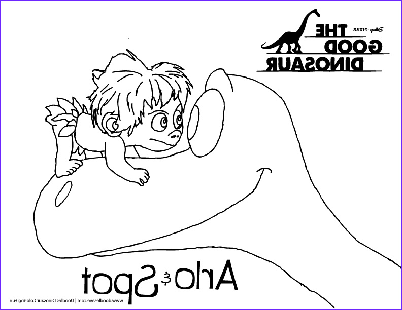 The Good Dinosaur Coloring Pages Best Of Collection Doodles' the Good Dinosaur