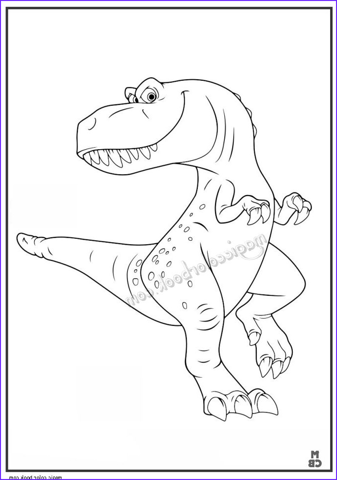 the good dinosaur coloring pages