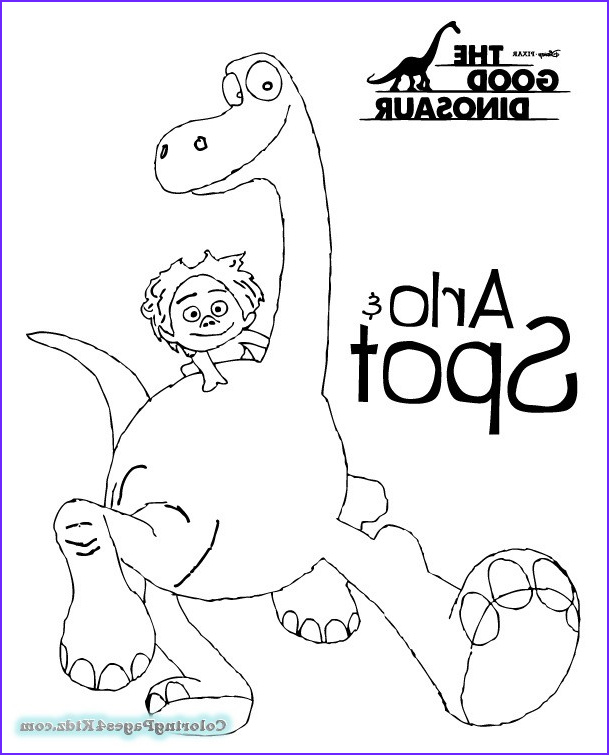 the good dinosaur coloring pages 1016