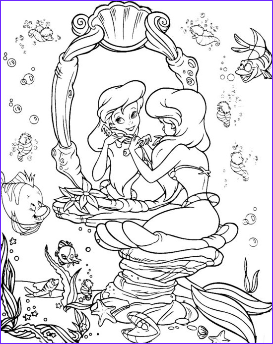 The Little Mermaid Coloring Pages Luxury Stock Ariel Coloring Pages Best Coloring Pages For Kids