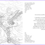 The Throne Of Glass Coloring Book Awesome Photos Bloomsbury Reveals Pages Of Throne Of Glass Coloring Book