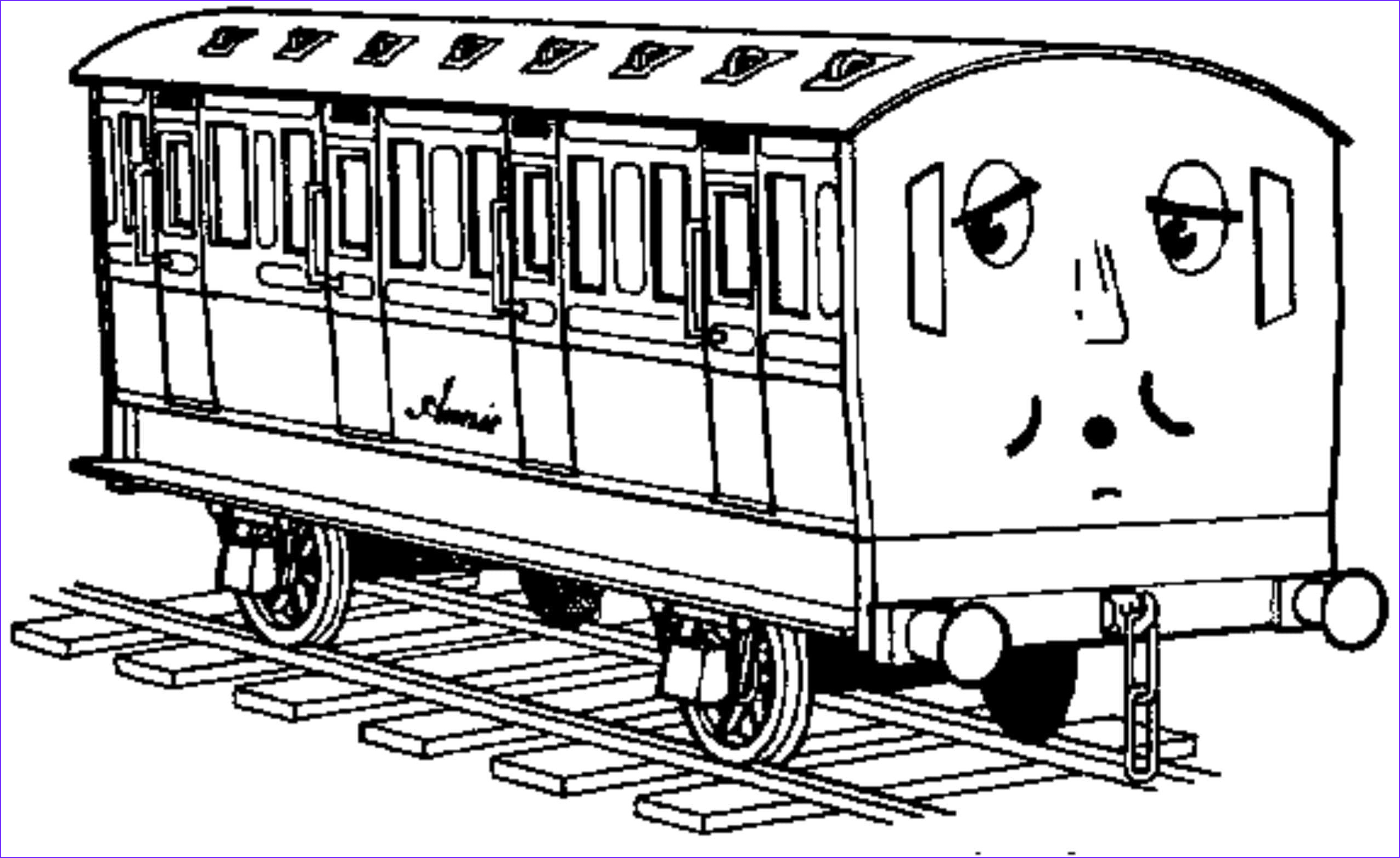 thomas train theme coloring pages