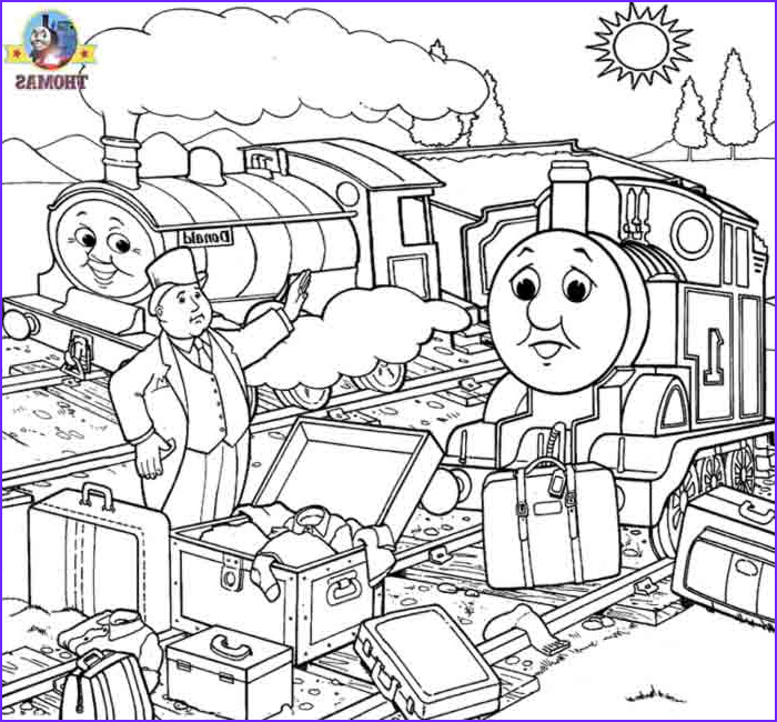 thomas coloring book pages for kids