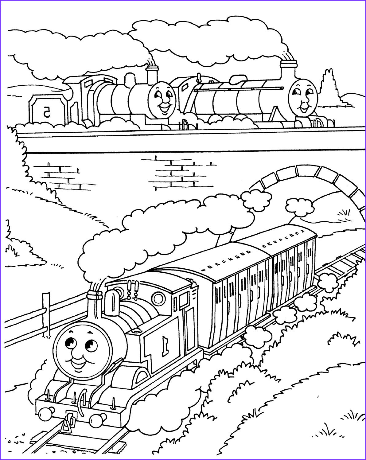 Thomas Coloring Pages Cool Image September 2012 Coloring Pages
