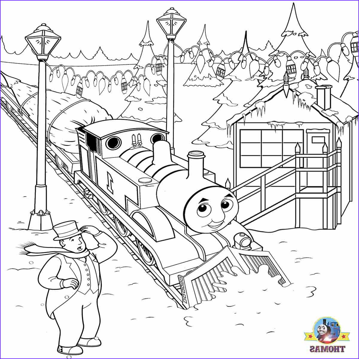 Thomas the Train Coloring Awesome Photos Train Thomas the Tank Engine Friends Free Online Games and