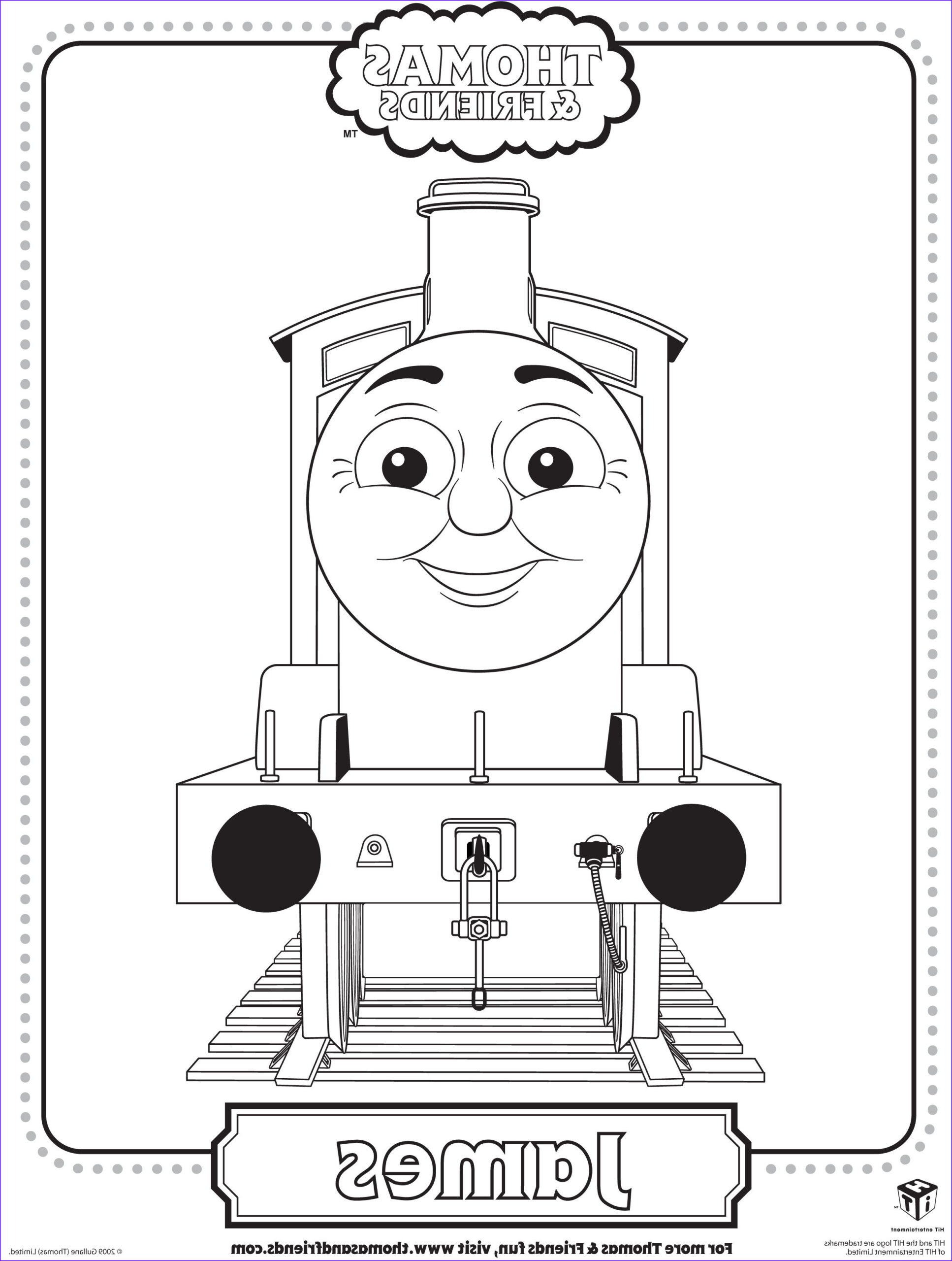 Thomas the Train Coloring Beautiful Collection Colouring Pages Of James In Thomas Tank Google Search