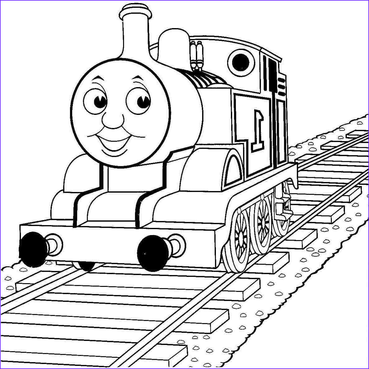 Thomas the Train Coloring Beautiful Collection Thomas the Train Coloring Page Color Periods