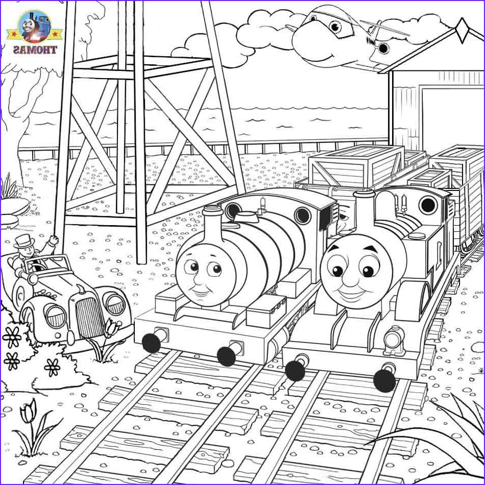 Thomas the Train Coloring Beautiful Image Free Coloring Pages Printable to Color Kids and