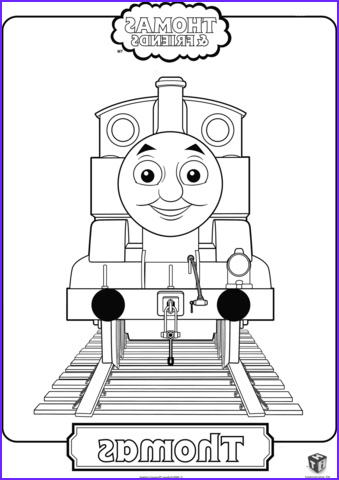 Thomas the Train Coloring Beautiful Stock Thomas the Train Coloring Page