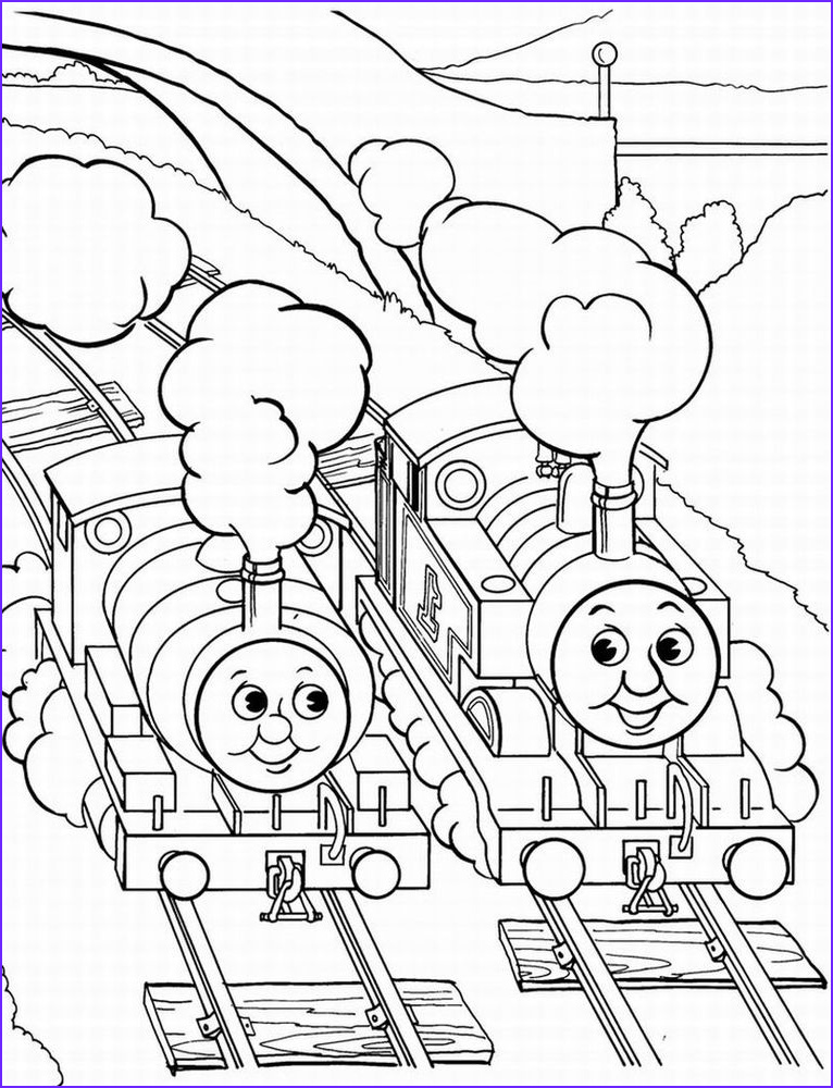 Thomas the Train Coloring Best Of Collection August 2011