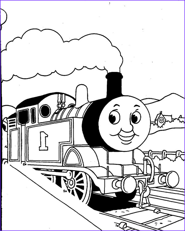 Thomas the Train Coloring Best Of Photos Thomas Printables