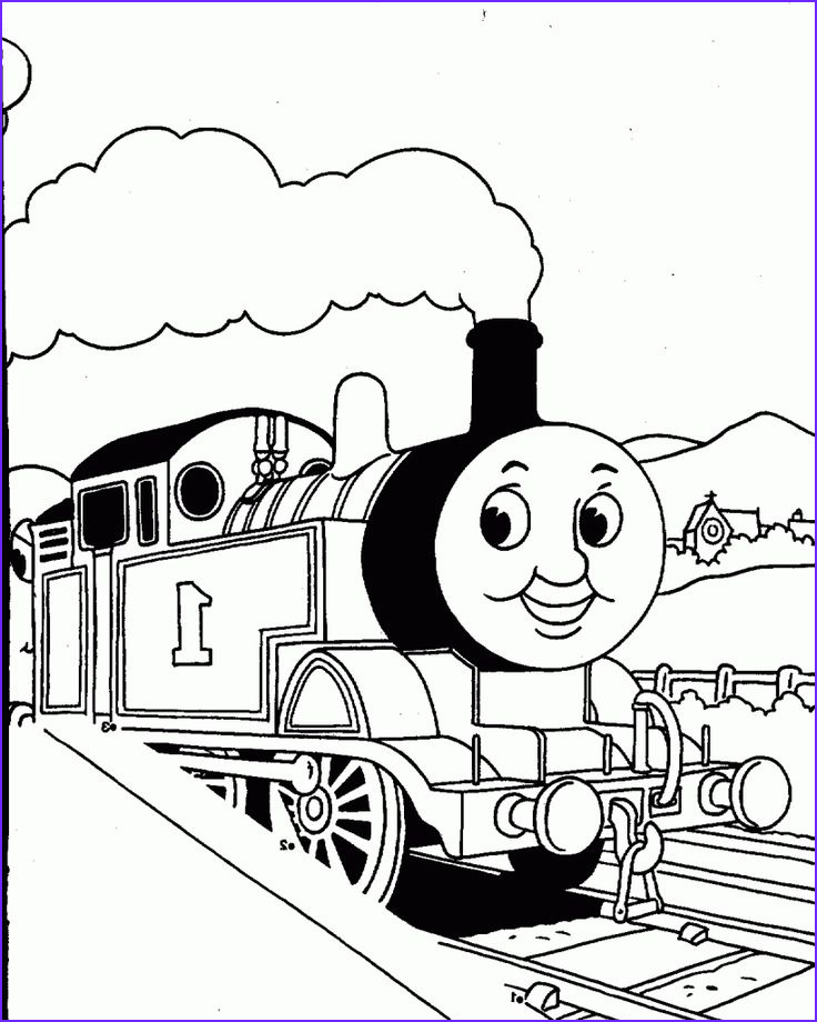 Thomas the Train Coloring Elegant Images Thomas the Train Coloring Pages to Print Out