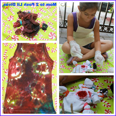 Tie Dye with Food Coloring Beautiful Image This is the Oldest Divas Tie Dye Shirt It Came Out Pretty