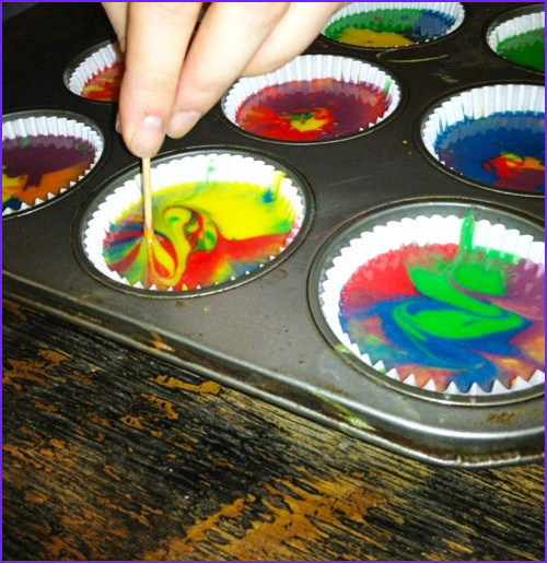 Tie Dye with Food Coloring Best Of Photos Easy Tie Dye Cupcakes White Cake Mix & some Food Coloring