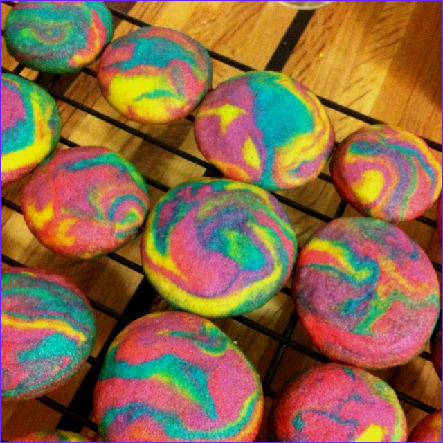 Tie Dye with Food Coloring Cool Collection Tie Dye Sugar Cookies Ingre Nts Sugar Cookie Mix Neon