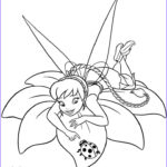 Tinkerbell Coloring Book Awesome Gallery Fawn Coloring Page Disney Fairies Pinterest