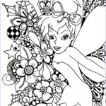 Tinkerbell Coloring Book Awesome Photos Fairy Coloring Pages