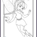 Tinkerbell Coloring Book Cool Collection Tinkerbell And Friends Coloring Pages