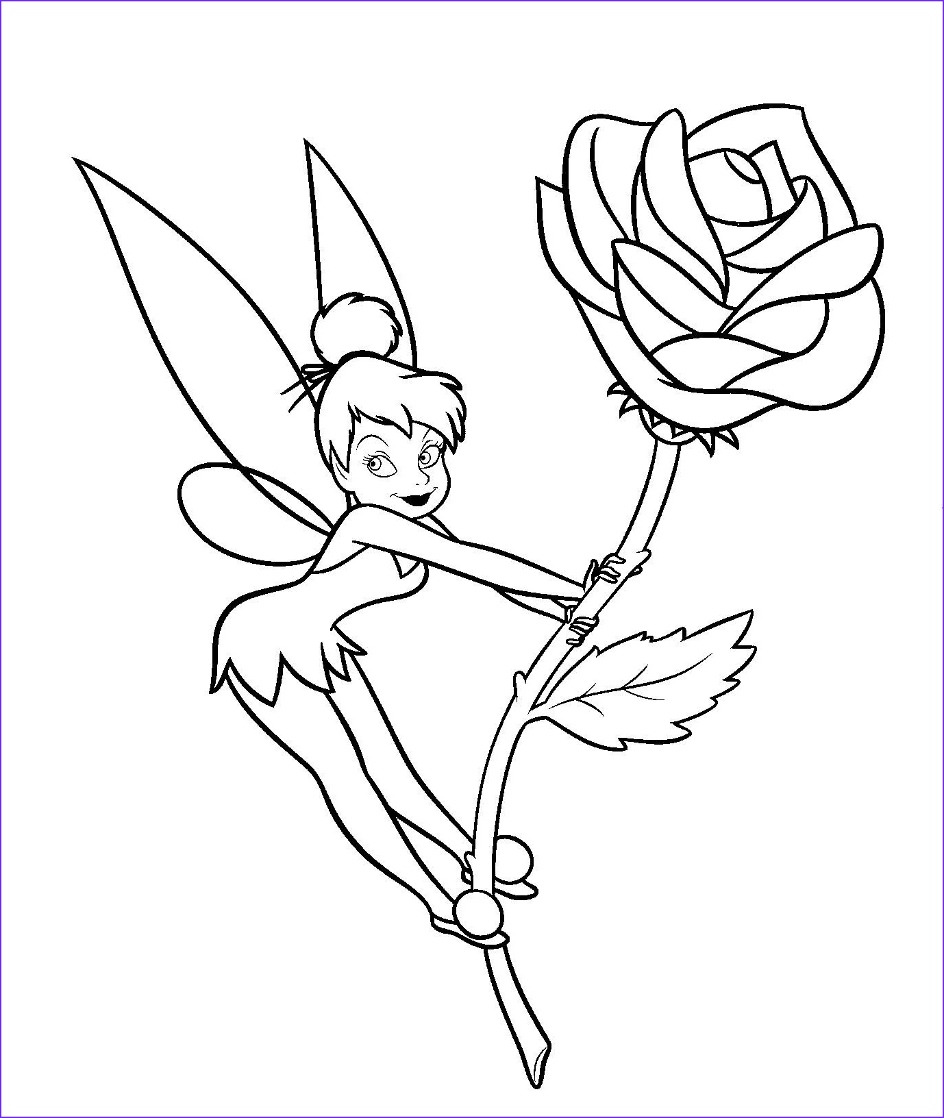 Tinkerbell Coloring Book Inspirational Photos Tinkerbell Coloring Pages