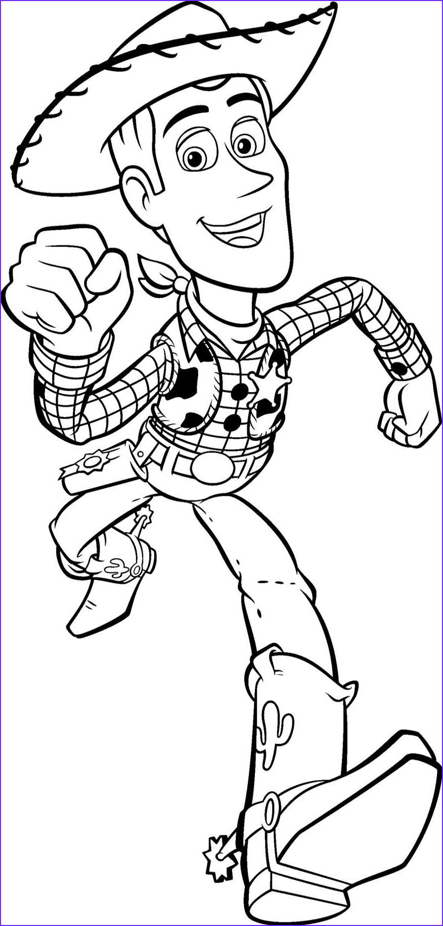 Toy Story Coloring Book New Images toy Story Woody Runs Fast Coloring Pages Education