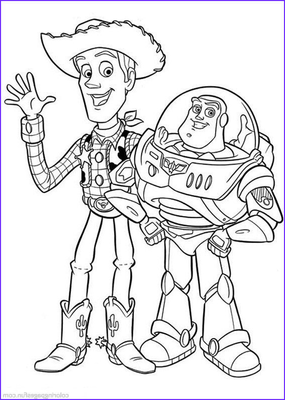 Toy Story Coloring Page Best Of Photos toy Story Coloring Pages 42 Free Printable Coloring