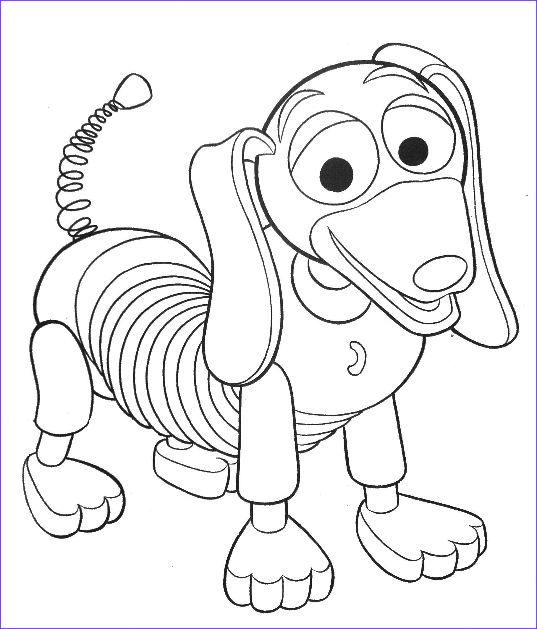 Toy Story Coloring Page Unique Photos toy Story Coloring Pages toy Story Slinky Dog Coloring